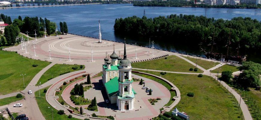 Адмиралтейская площадь в Воронеже