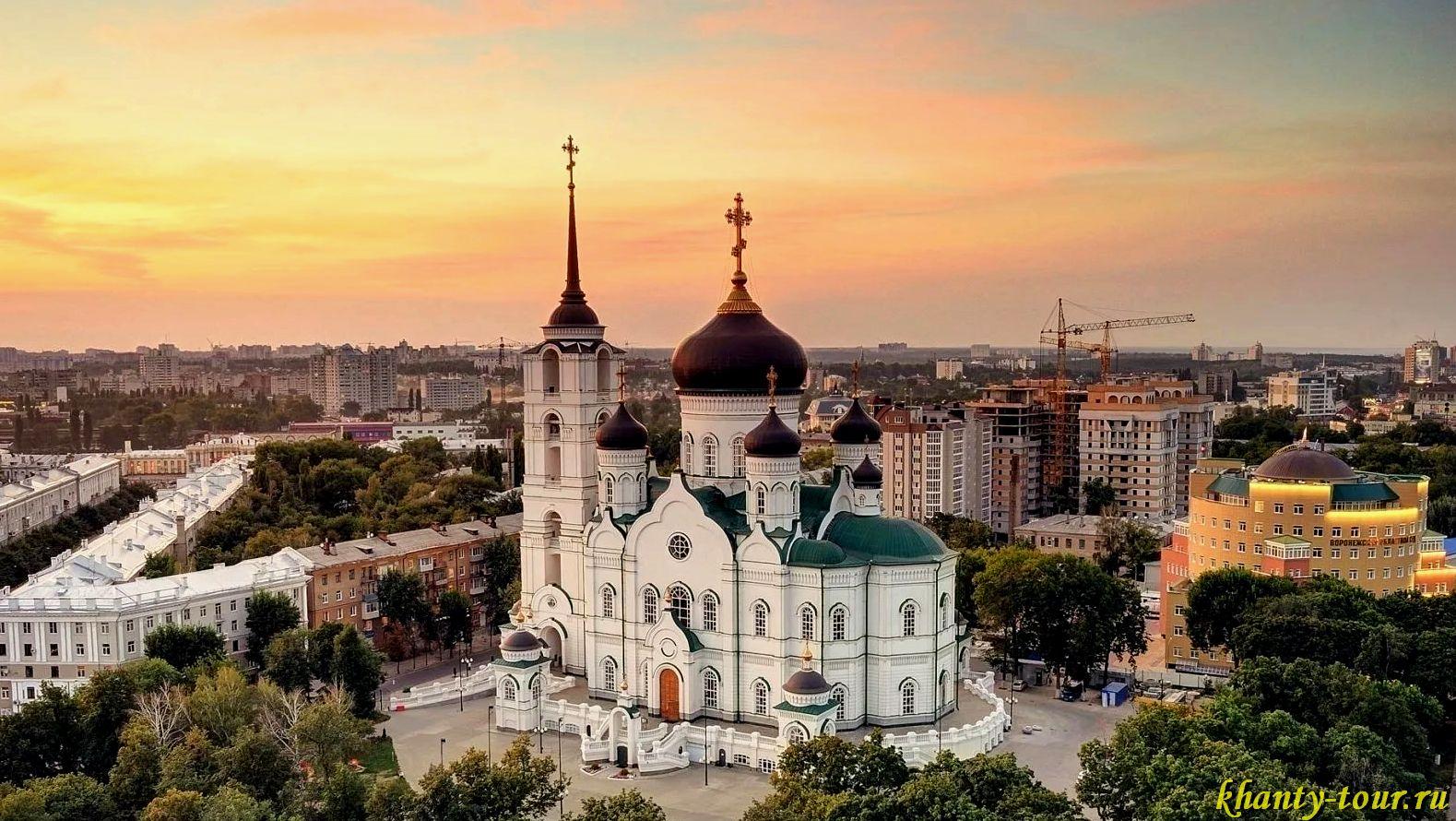 Основные достопримечательности города Воронежа