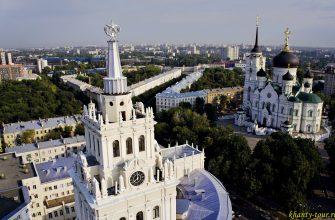 Самые интересные места в Воронеже